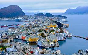 overview, Alesund, Norway
