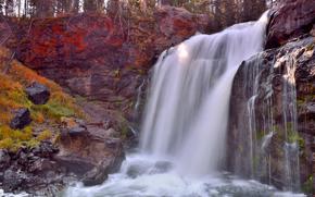 MooseFalls, Yellowstone, USA