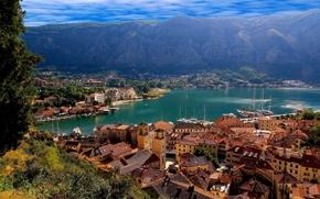 overview, Kotor, Montenegro