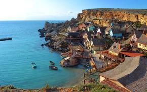 Anchor, Bay, Mellieha, Malta