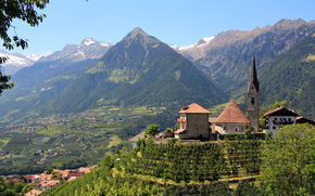 St. Georgen, Merano, South Tyrol, Italy