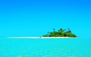 paesaggio, mare, isola