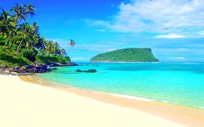 paesaggio, spiaggia, mare