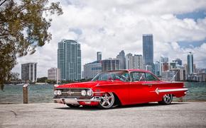 chevrolet, Impala, 1960, Wheels Boutique & HRE Wheels
