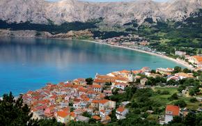Baska, Krk, Isla, Croacia