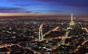 париж, франция, панорама