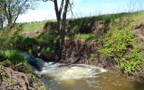 FLOW, small river, anda