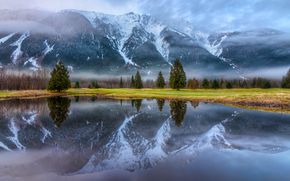 Mount Currie Reflect, Pemberton Campo da golf, Pemberton, British Columbia, Canada