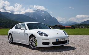 Porsche, Panamera, s, E-Hybrid, 970, 2013