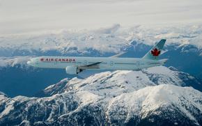 Boeing, 777, 300ER, aria, Canada