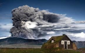 Eyjafjallajokull, vulcão, erupção, Islândia