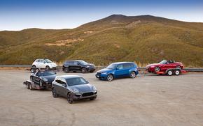 bmw, X5m, Porsche, Cayenne, turbo, Jeep, Grand Cherokee, SRT8