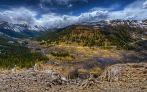 Verso Aspen, Indipendenza, Colorado, USA