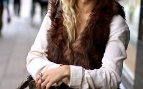 Emily Marie Nereng, white beauty, blond