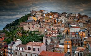 Caccamo, Village, Sicily, Italy