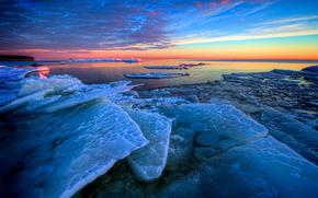 The ice is high, Hjortens udde, Mellerud, Sweden