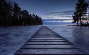 Il molo, Mellerud, Svezia