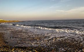 海, 岸, 石, 風景