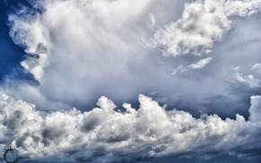 空, 雲, 自然