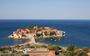 Sveti Stefan Islet, Gemeinde Budva, Montenegro