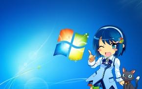 Windows 7, Fonds d'écran, 3d