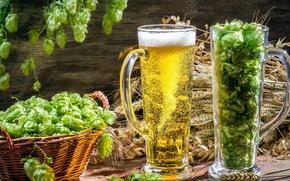 Beer, Drink, бокал