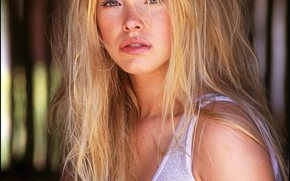 Kristanna Loken, white beauty, blond