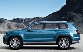 Volkswagen, CrossBlue, concetto, 2013
