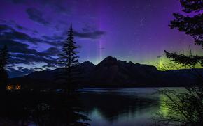 Национальный парк Банфф, провинция Альберта, Канада, Озеро Minnewanka