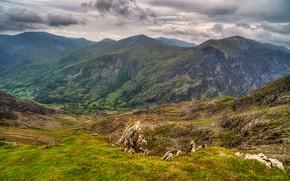 斯诺登尼亚, 联合王国, 山, 景观