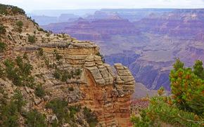 Парк, США, Grand Canyon, Каньон, Скала, Природа