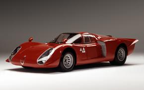 alfa, Romeo, Tipo, 33/2, Daytona, 1968