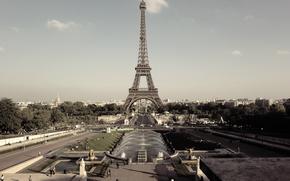 eiffel, париж, франция, эйфелева башня