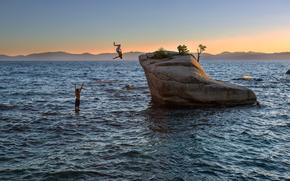 Lake Tahoe, Lake Tahoe, California, Stati Uniti d'America.