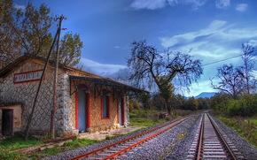 Pelleponisos, Grecia, ferrovia
