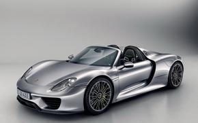 Porsche, 918, spyder, 2014
