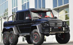 Brabus, Mercedes-Benz, T 63, amg, 6x6, W463, 2013