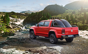 Volkswagen, Amarok, Canyon, concetto, 2012