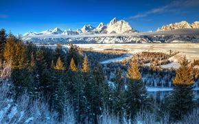 Ansel Adams, Tetons, Snake River, Wyoming, USA