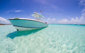 yacht, xhuma Islands, Bahamas, caribbean sea