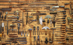 wall, Tools, etc.