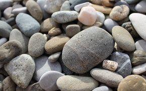pietre, puntellare, Macro, pietre del mare