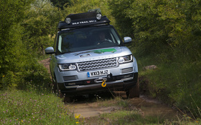 Land Rover, Range Rover, L405, SD, V6, Hybrid, prototype, 2013