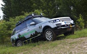 Land Rover, Range Rover, L405, SD, V6, Hybrid, prototipo, 2013