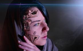 Mädchen, Cyborg, Fantasie
