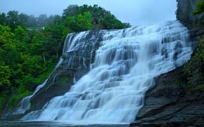 滝, カスケード, 自然