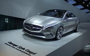 Paris 2012, Mercedes Concept Style Coupe, machine
