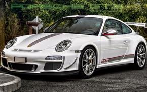 Porsche GT3, machine, Car
