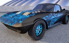 Carro, m?quina, 1964 Chevrolet Corvette Grand Sport