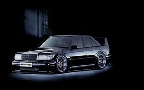 Mercedes Benz 190E Cosworthby, машина, авто